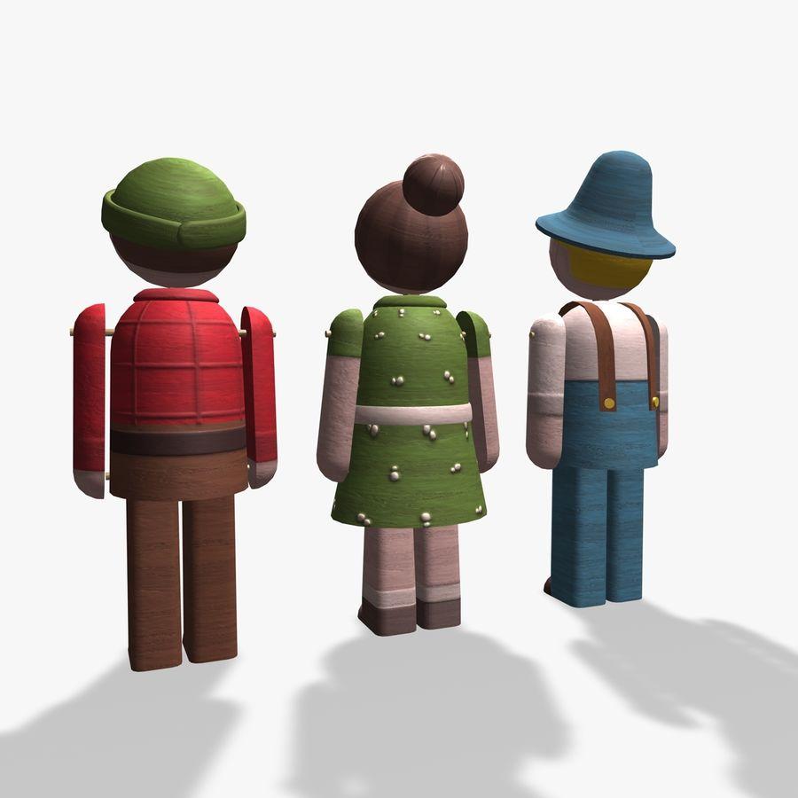 Postacie z zabawek royalty-free 3d model - Preview no. 6