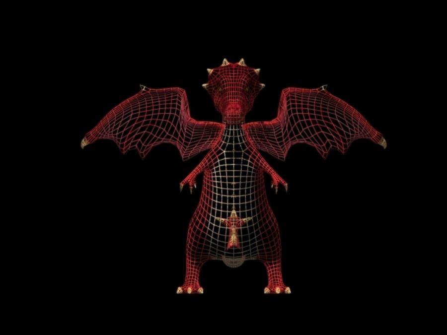LOW POLY 3D DRAGON MODEL 3D Model $10 -  unknown  max  obj
