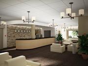 Recepción del hotel_02 modelo 3d