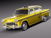 Checker Cab A8 Marathon 1956-1982 3d model