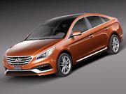 Hyundai Sonata 2015 3d model
