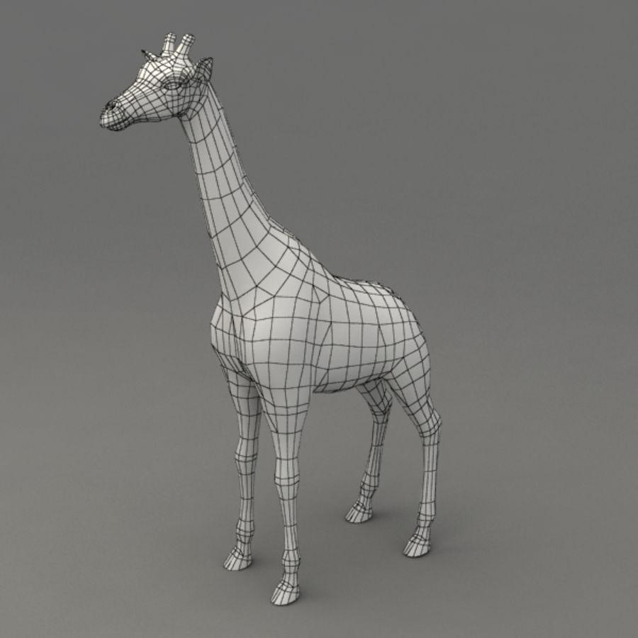 装备长颈鹿 royalty-free 3d model - Preview no. 9