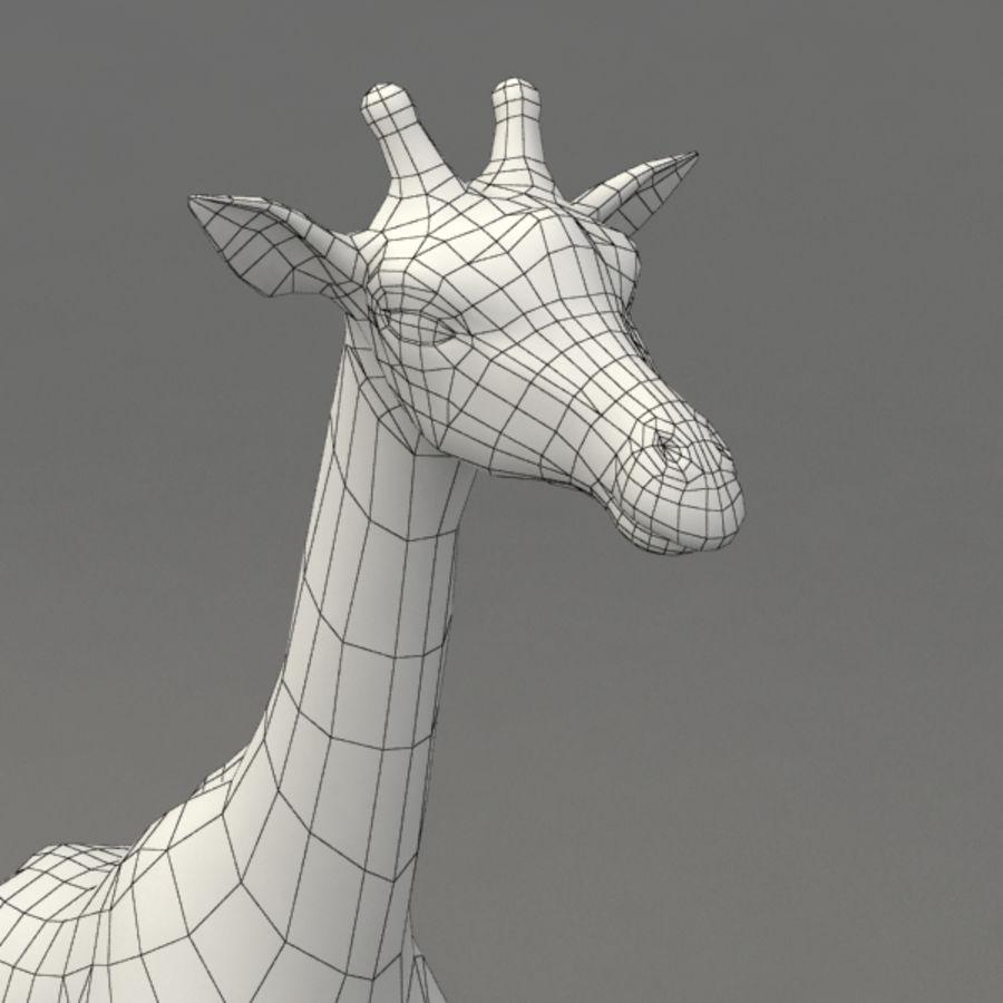 装备长颈鹿 royalty-free 3d model - Preview no. 11