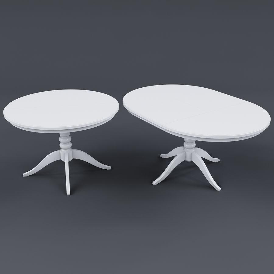 Table à Rallonge Ikea Liatorp Blanche Modèle 3d 19 Max