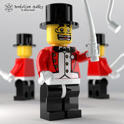 Lego Ringmaster Figure 3d model