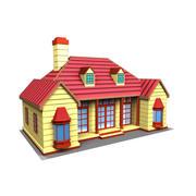 멋진 집 3d model