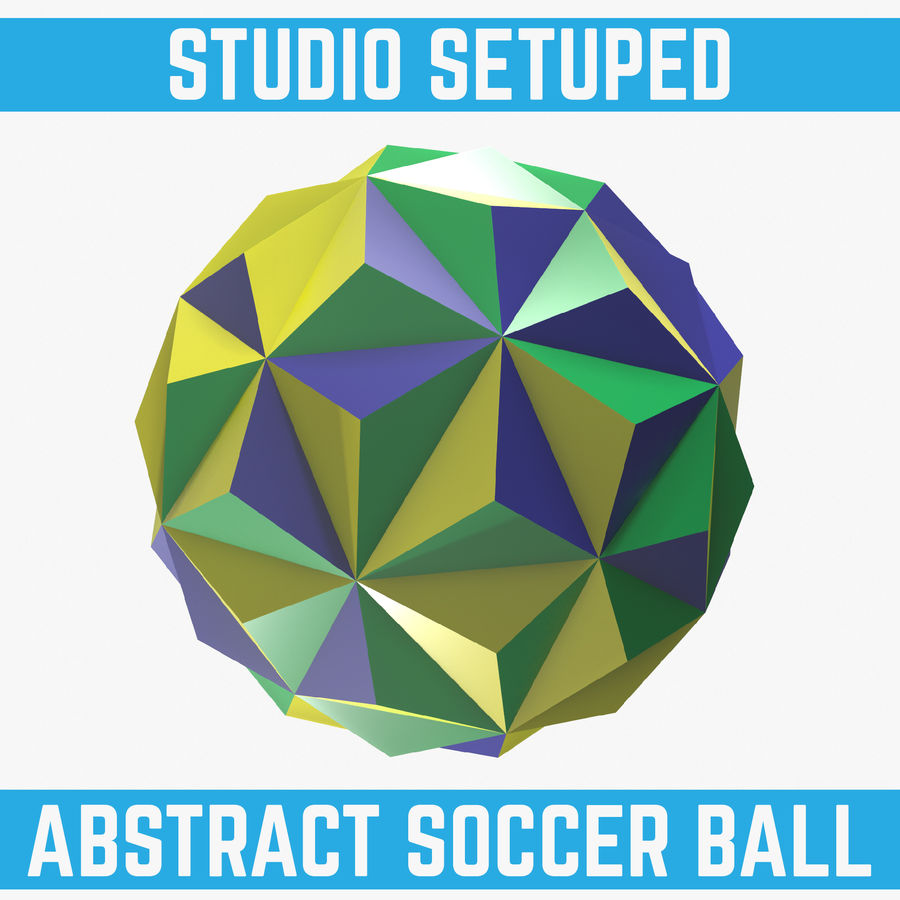 5a2aa4b7c07b Abstract Soccer Ball 3D Model  10 - .oth .obj .ma .fbx - Free3D