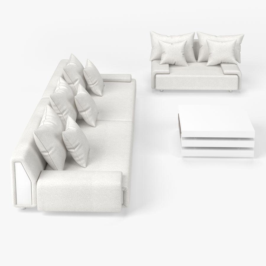 Living Room Set 3D Model $10 - .obj .max .fbx .c4d - Free3D