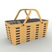 Longaberger Basket 3d model