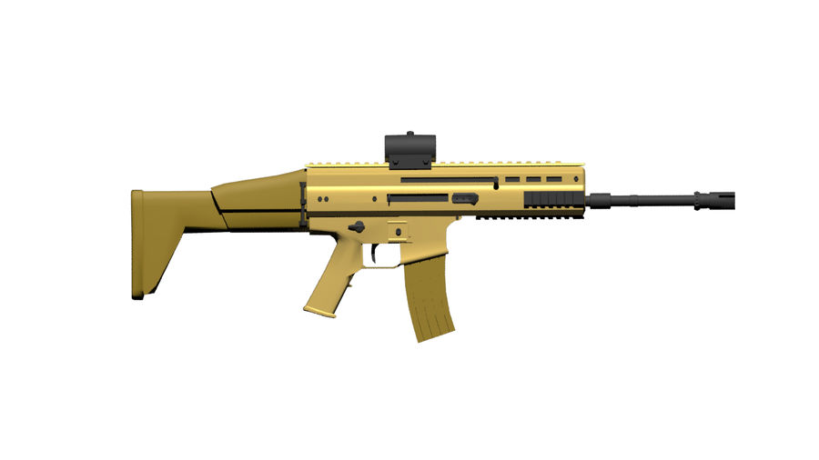 Scar-L royalty-free 3d model - Preview no. 3