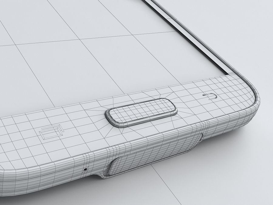 Samsung GALAXY S5 royalty-free 3d model - Preview no. 25