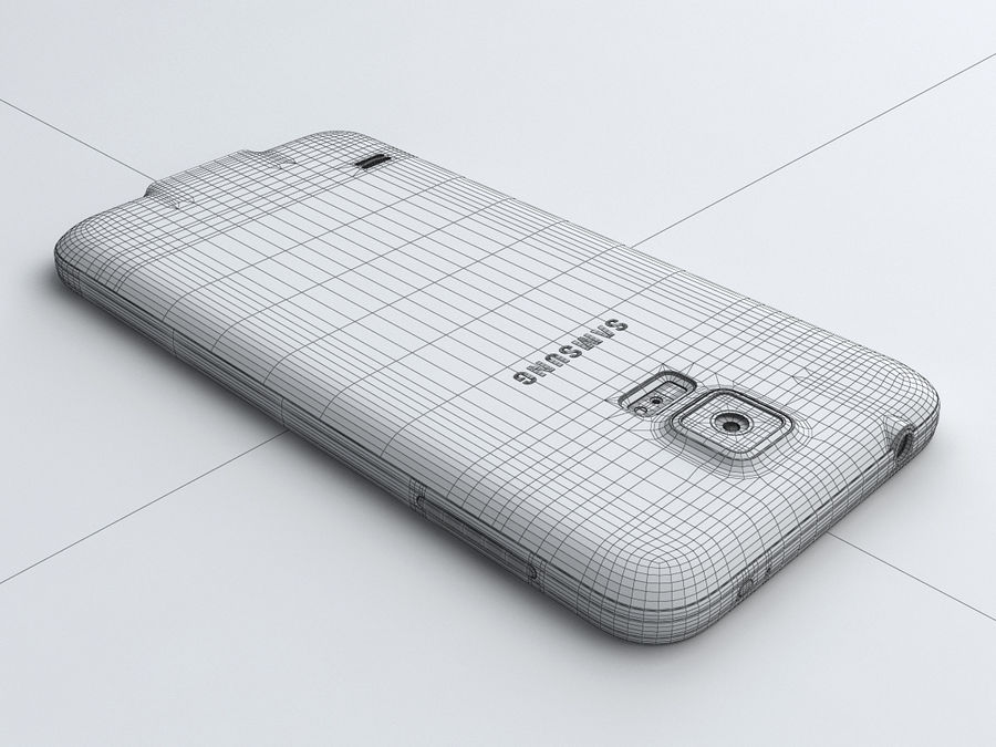 Samsung GALAXY S5 royalty-free 3d model - Preview no. 22