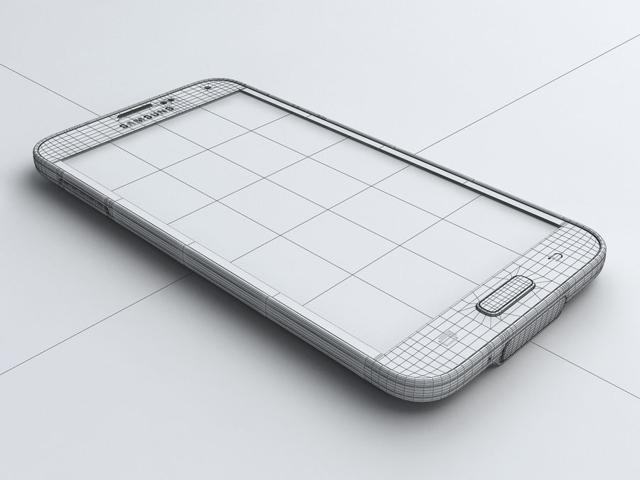 Samsung GALAXY S5 royalty-free 3d model - Preview no. 21