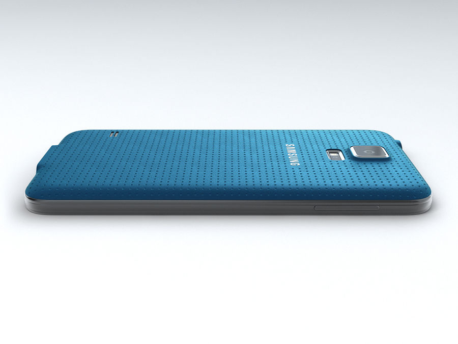 Samsung GALAXY S5 royalty-free 3d model - Preview no. 10