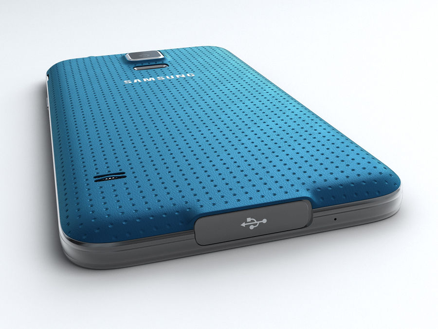 Samsung GALAXY S5 royalty-free 3d model - Preview no. 8
