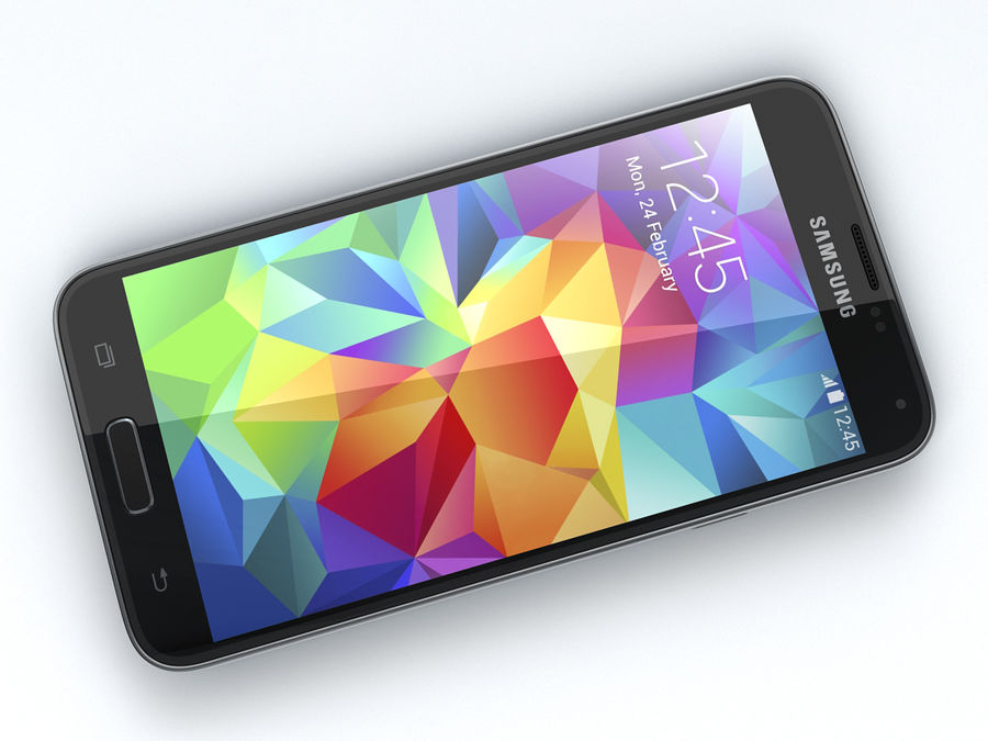 Samsung GALAXY S5 royalty-free 3d model - Preview no. 11