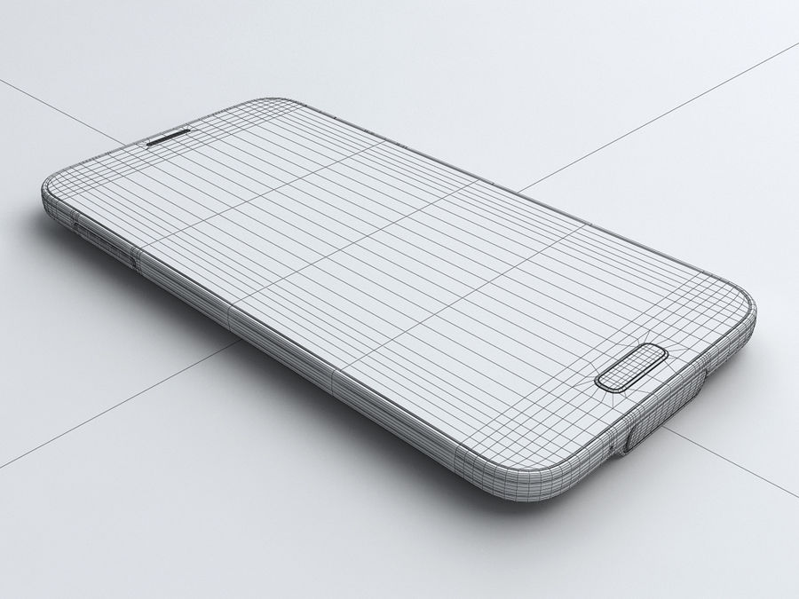 Samsung GALAXY S5 royalty-free 3d model - Preview no. 20