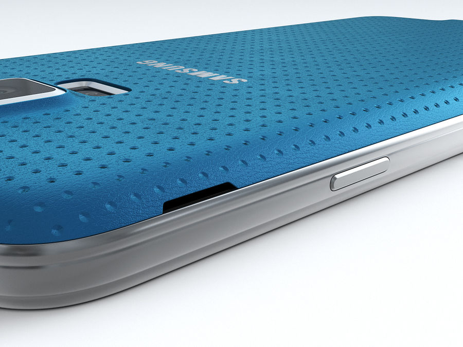 Samsung GALAXY S5 royalty-free 3d model - Preview no. 18