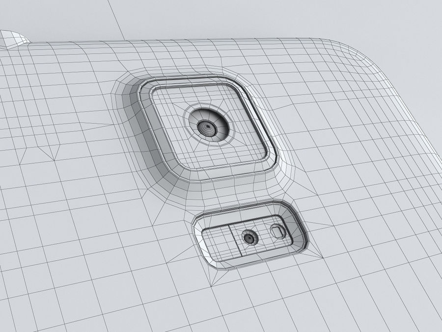 Samsung GALAXY S5 royalty-free 3d model - Preview no. 27