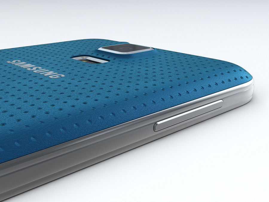 Samsung GALAXY S5 royalty-free 3d model - Preview no. 19