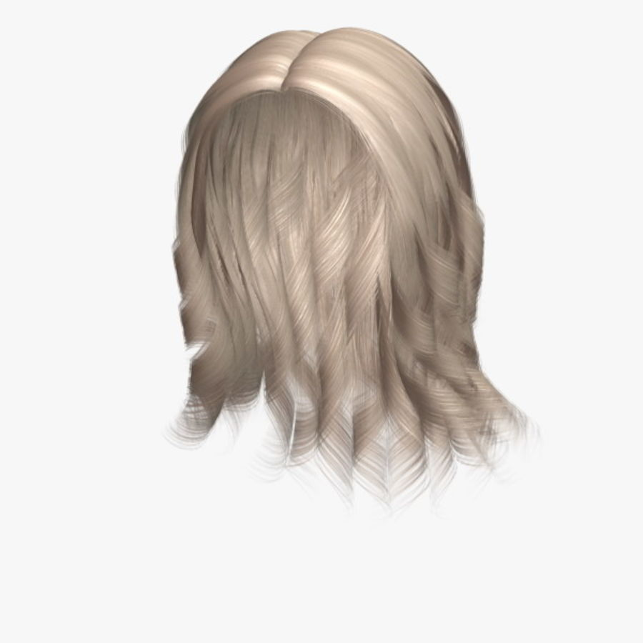 Susan Hair royalty-free 3d model - Preview no. 1
