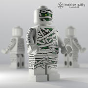 Lego Mummy Figure 3d model