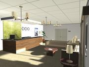 Hotel reception_03 3d model