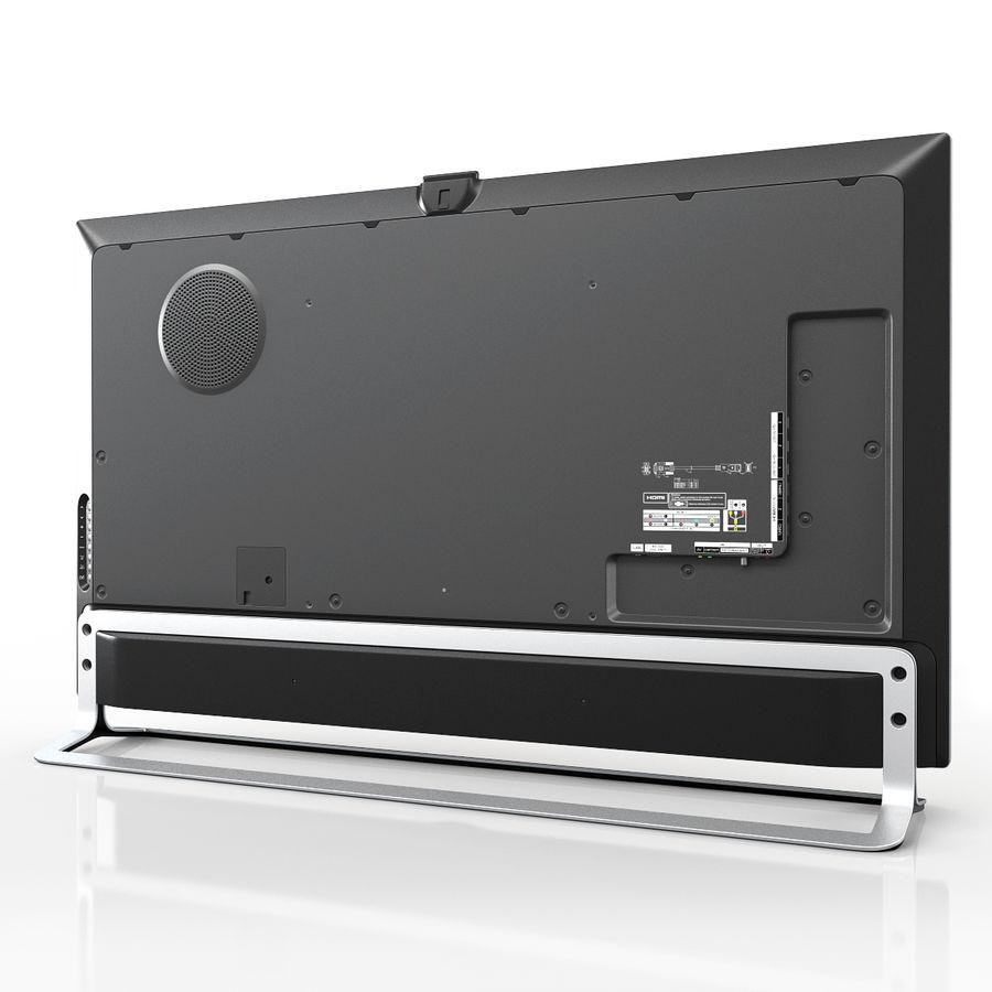 LG ULTRA HD SMART TV 65 inch 65LA970V royalty-free 3d model - Preview no. 2