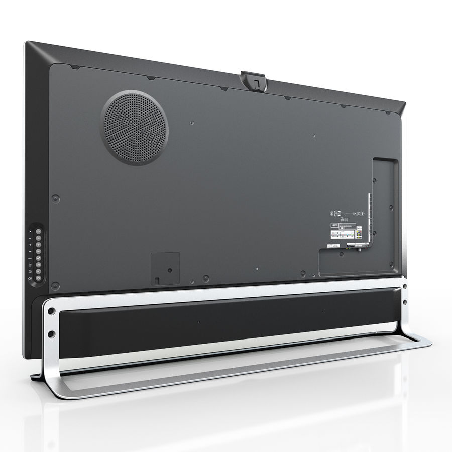 LG ULTRA HD SMART TV 65 inch 65LA970V royalty-free 3d model - Preview no. 8