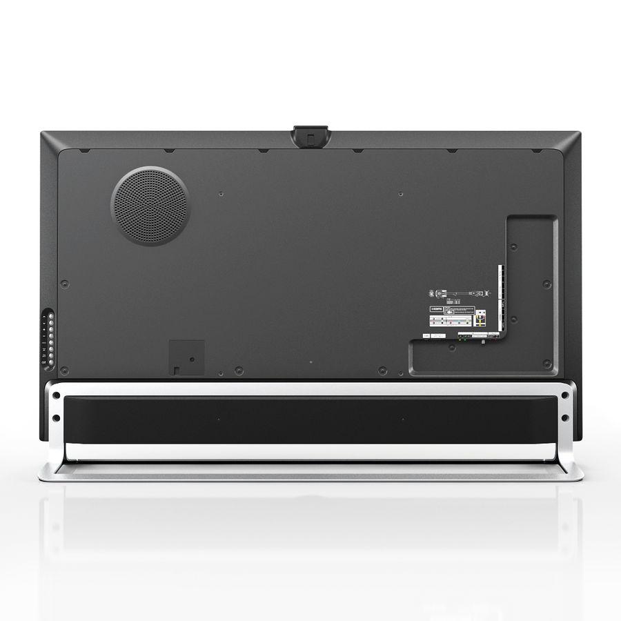 LG ULTRA HD SMART TV 65 inch 65LA970V royalty-free 3d model - Preview no. 4