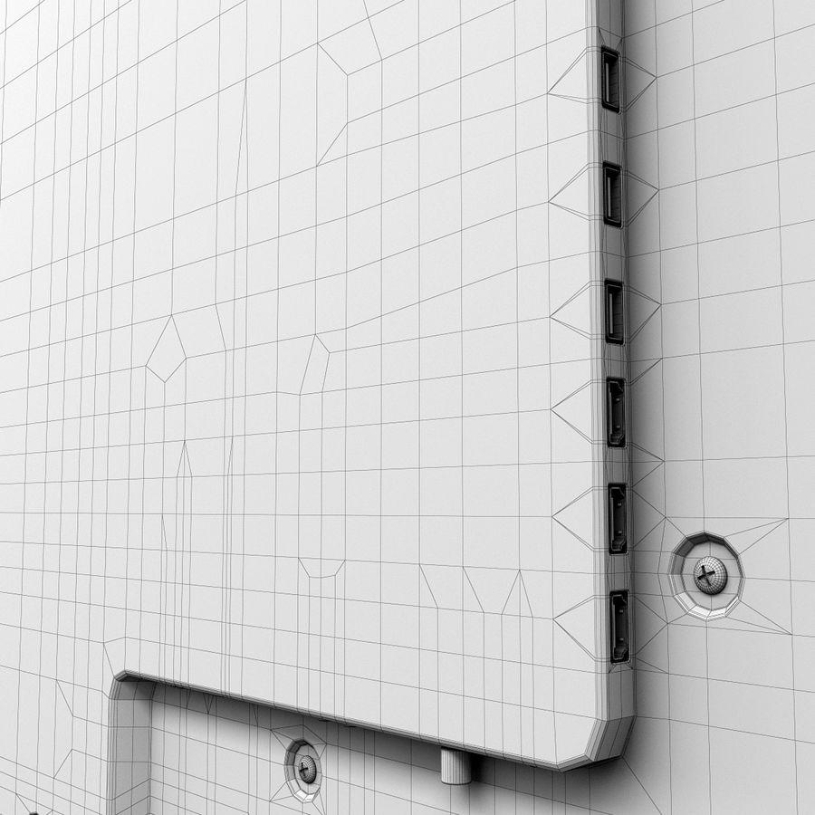 LG ULTRA HD SMART TV 65 inch 65LA970V royalty-free 3d model - Preview no. 20