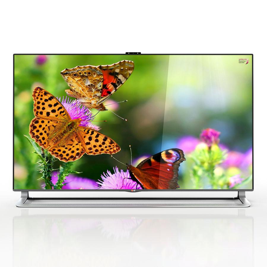 LG ULTRA HD SMART TV 65 inch 65LA970V royalty-free 3d model - Preview no. 3