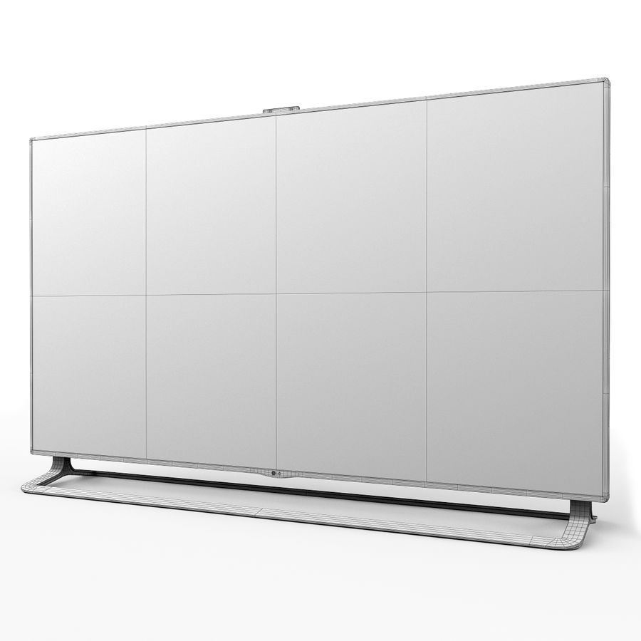 LG ULTRA HD SMART TV 65 inch 65LA970V royalty-free 3d model - Preview no. 18