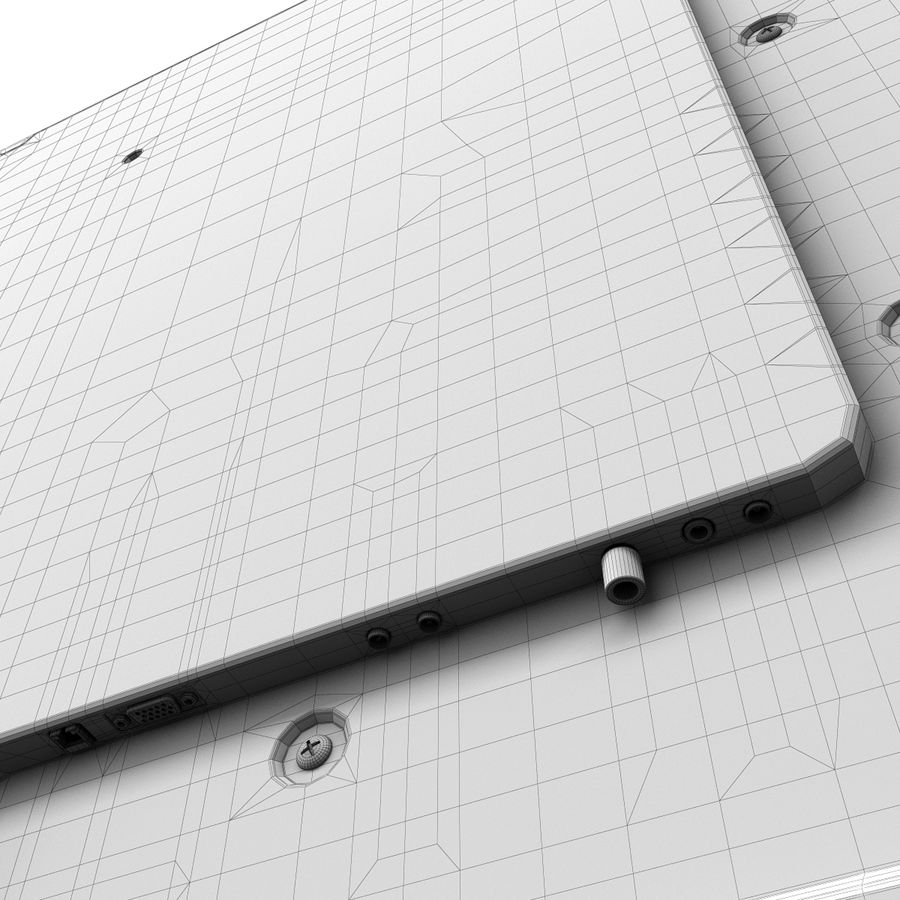 LG ULTRA HD SMART TV 65 inch 65LA970V royalty-free 3d model - Preview no. 21
