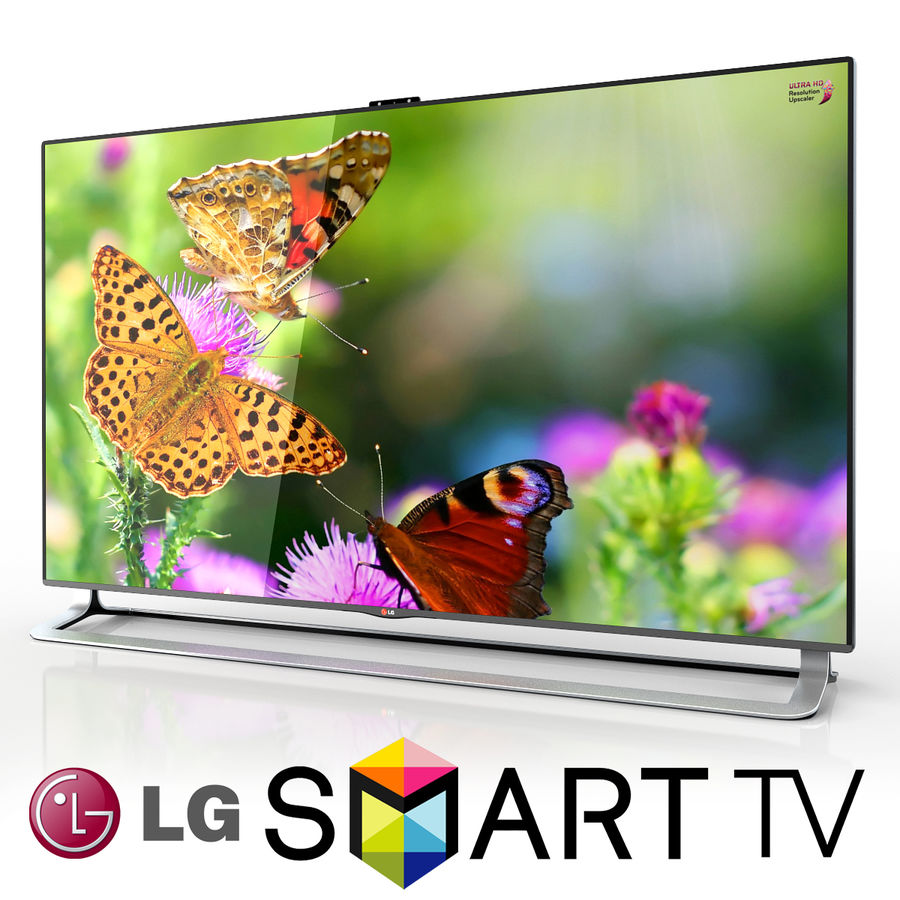 LG ULTRA HD SMART TV 65 inch 65LA970V 3D Model $15 -  fbx