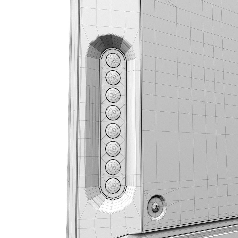 LG ULTRA HD SMART TV 65 inch 65LA970V royalty-free 3d model - Preview no. 22