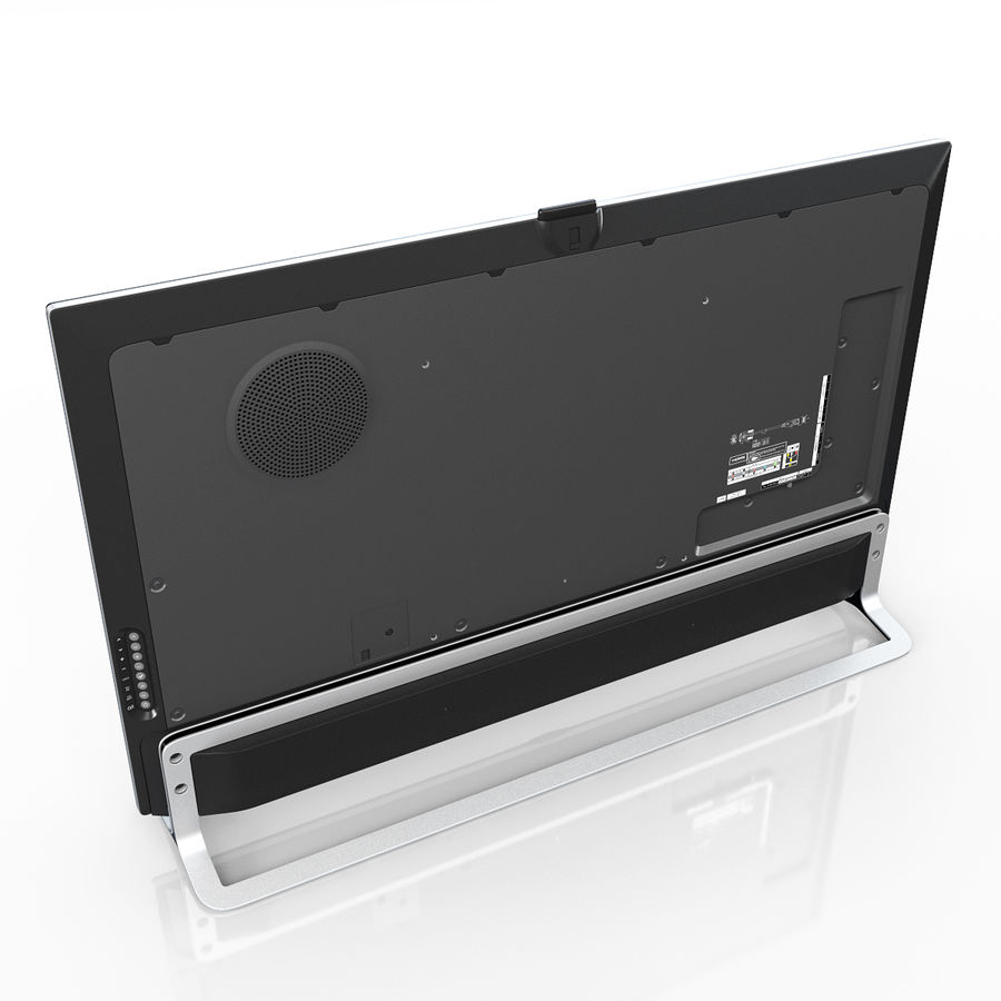 LG ULTRA HD SMART TV 65 inch 65LA970V royalty-free 3d model - Preview no. 6