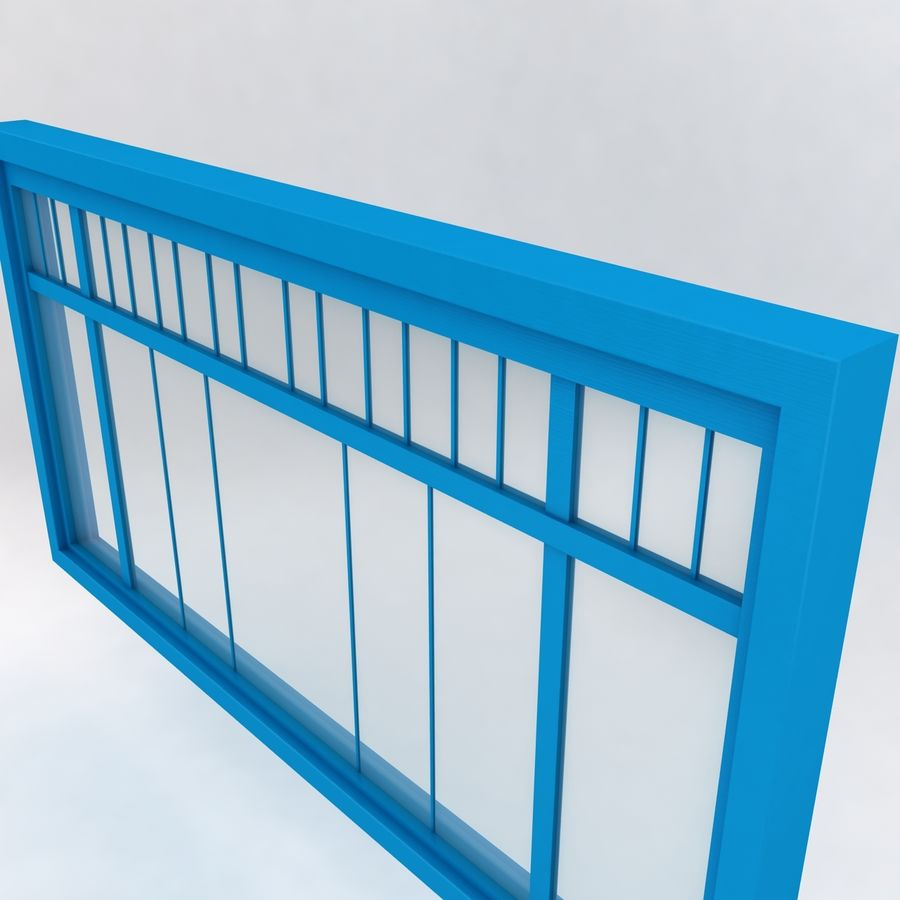 Window royalty-free 3d model - Preview no. 1