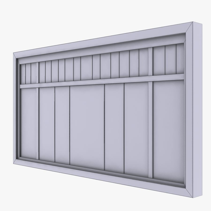 Window royalty-free 3d model - Preview no. 7