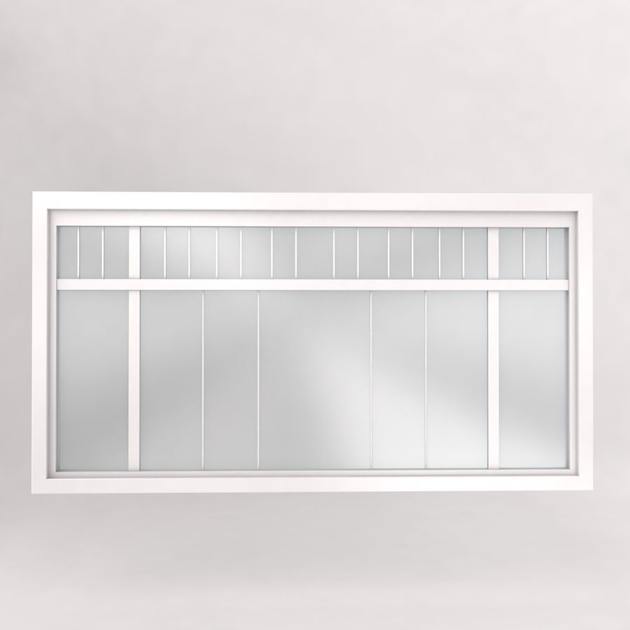 Window royalty-free 3d model - Preview no. 4