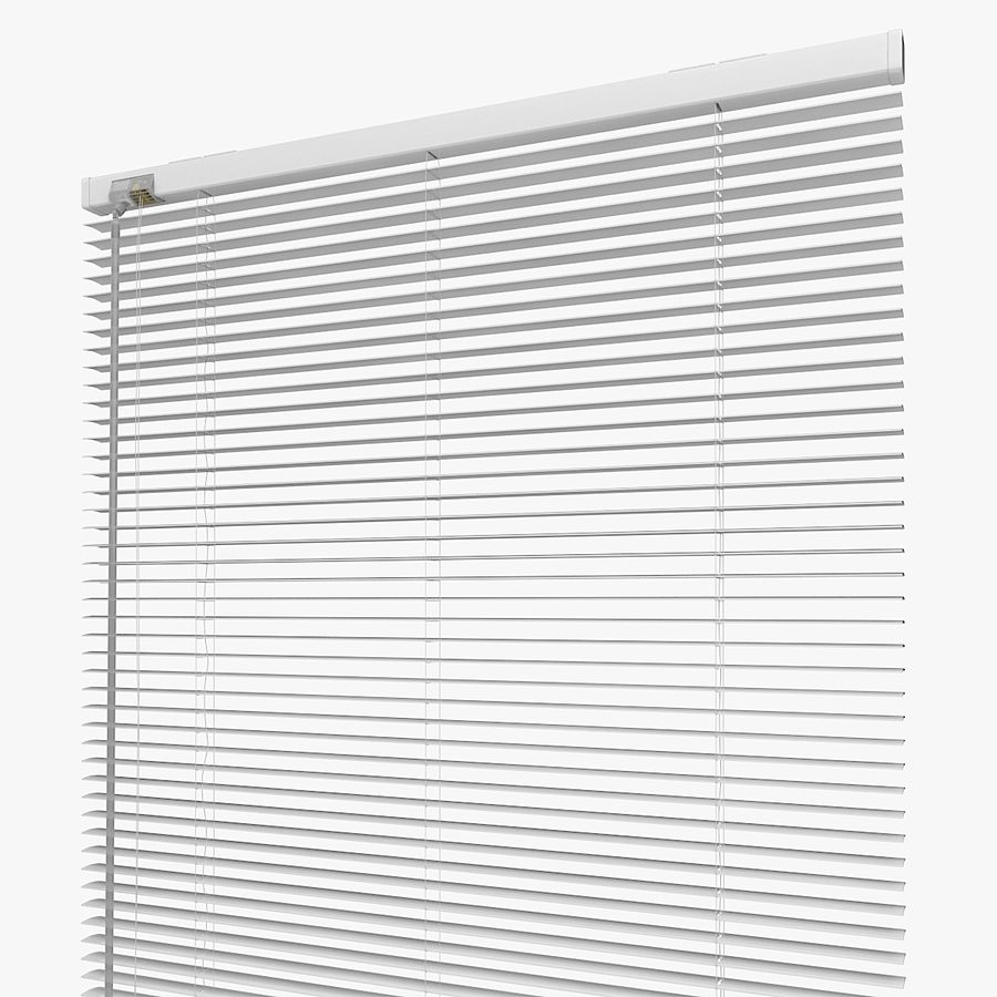White Blinds royalty-free 3d model - Preview no. 3