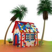 작은 집 3d model