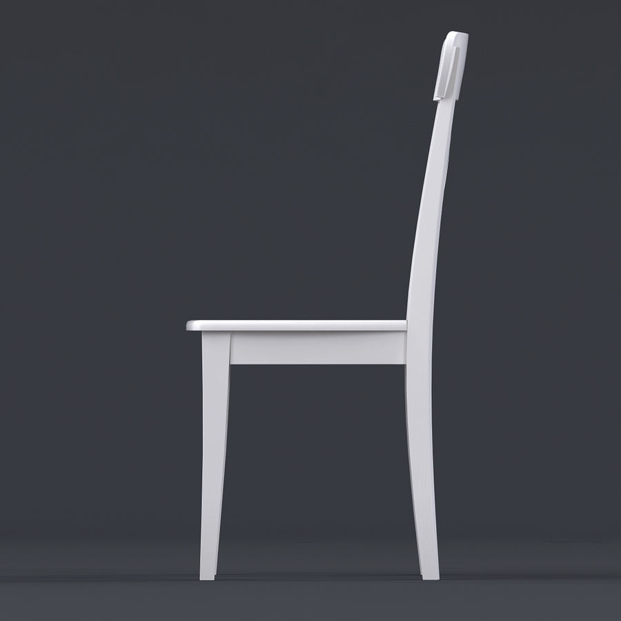Amazing Chair Ikea Ingolf White 3D Model 19 Max Obj Fbx 3Ds Pdpeps Interior Chair Design Pdpepsorg