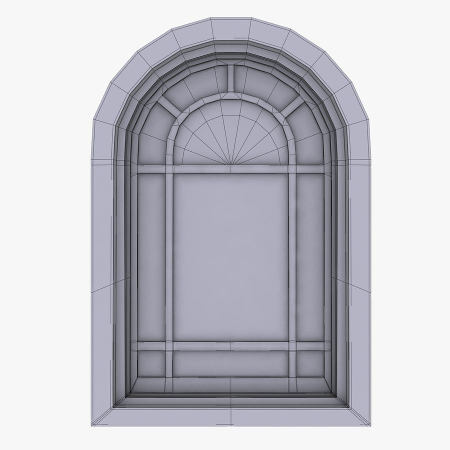 Window royalty-free 3d model - Preview no. 5