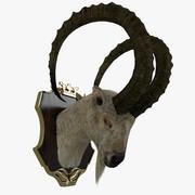 Głowa kozy 3d model