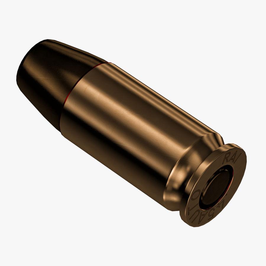 .45 ACP Bullet royalty-free 3d model - Preview no. 1