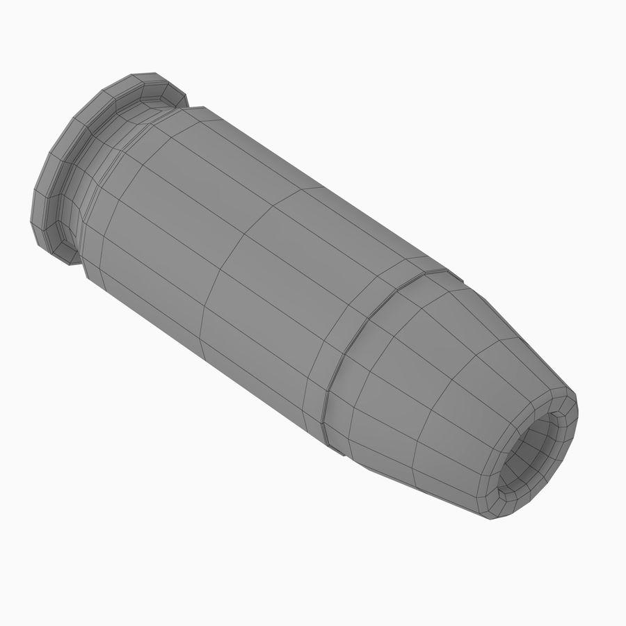 .45 ACP Bullet royalty-free 3d model - Preview no. 4