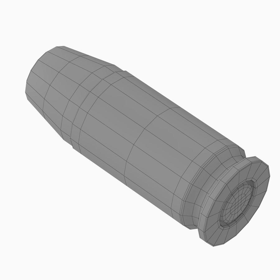 .45 ACP Bullet royalty-free 3d model - Preview no. 5