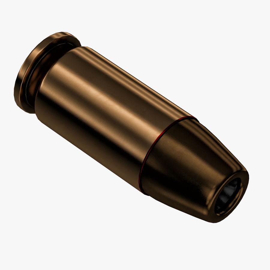 .45 ACP Bullet royalty-free 3d model - Preview no. 3