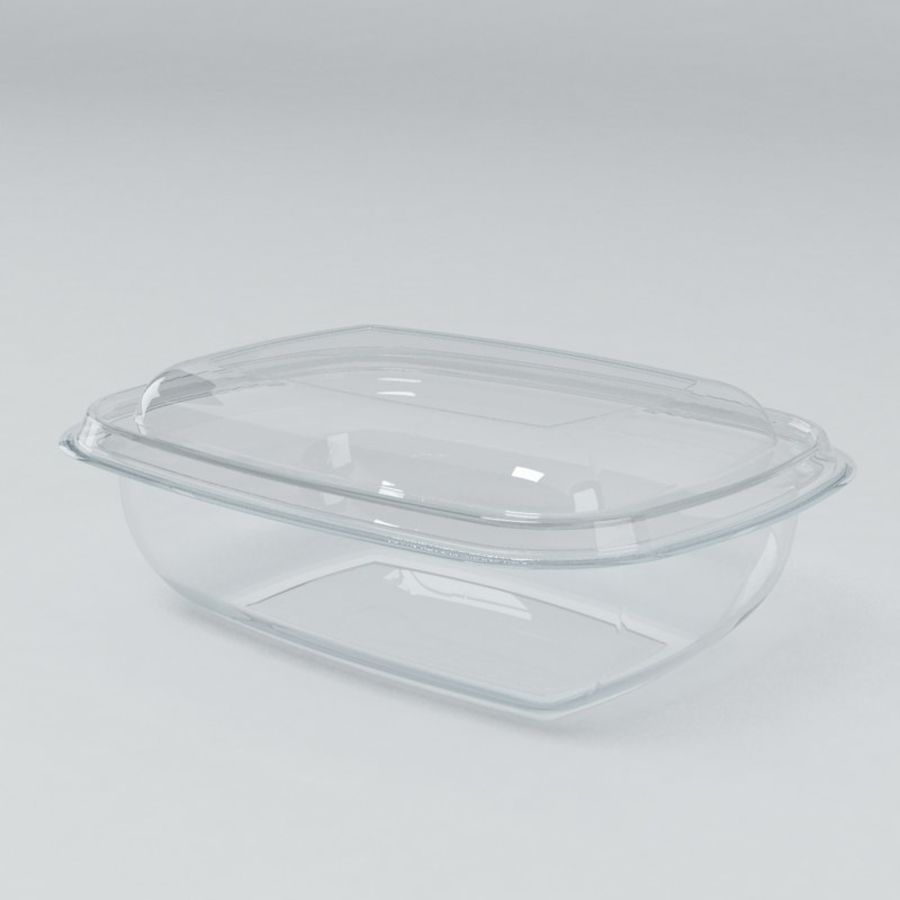Food Drink Containers royalty-free 3d model - Preview no. 3